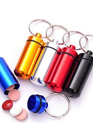 abordables -Caja de Viaje para Pastillas Impermeable Portable Muy ligero De tamaño mini paraAlmacenamiento para Viaje Accesorios de Emergencia para