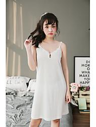 Dámské Kombiné Noční prádlo Sexy Jednolitý