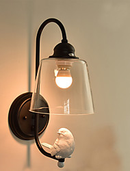AC 110-130 AC 220-240 40 E26 E27 Moderno/contemporaneo Pittura caratteristica for Stile Mini,Luce ambient Lampade a candela da pareteLuce