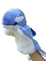 Недорогие -Куклы Игрушки Дельфин Плюшевая ткань Дети Куски