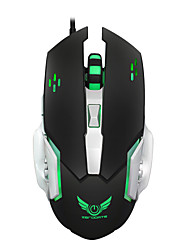 Macro Definition Gaming Mouse 3200DPI Mechanical Mouse Game Mouse USB 6 Button Wired Optical Computer Mouse Gamer PC for Laptop