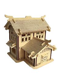 Quebra-Cabeças 3D Brinquedos Arquitetura Chinesa Crianças Peças
