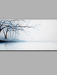 cheap -Hand-Painted Landscape Painting Abstract Contemporary One Panels Oil Painting For Home Decoration
