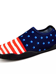 Недорогие -Для мужчин Спортивная обувь Для плавания Удобная обувь Ткань Весна Осень Комбинация материалов На плоской подошве Цвет экрана 4,5 - 7 см