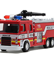 cheap -Toy Cars Toys Train Fire Engine Vehicle Toys Simulation Others Train Fire Engines Metal Alloy Pieces Unisex Gift