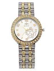 cheap -Women's Quartz Wrist Watch / Hot Sale Alloy Band Casual Dress Watch Elegant Fashion Cool Silver Gold