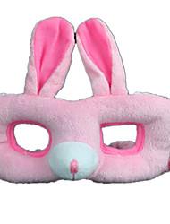 Недорогие -Маски на Хэллоуин Животная маска Мягкие и плюшевые игрушки Rabbit Ужасы Плюшевая ткань Куски Детские Девочки Игрушки Подарок