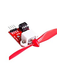 cheap -L9110 Fan Motor Control Module with Propeller for Arduino Firefighting Robot Design