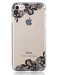 Недорогие -Для яблока iphone 7 плюс 7 кружевной печатной формы чехол задняя крышка чехол мягкий tpu для iphone 6s плюс 6 плюс 6s 6 5 5s se