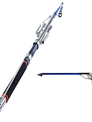 cheap -Fishing Rod Tele Pole Stainless Steel / Iron 150  180  210  240  270 cm Sea Fishing Fly Fishing Bait Casting Ice Fishing Spinning Jigging