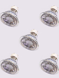 cheap -5pcs 5W 420lm GU10 LED Spotlight 1 LED Beads COB Warm White / White / 5 pcs