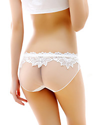 Women's Sexy Lace Solid Ultra Sexy Panties Briefs  Underwear,Polyester