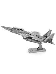 Kit de Bricolage Puzzles 3D Puzzle Jouets Tank Navire de Guerre Avion Chasseur 3D A Faire Soi-Même Unisexe Pièces