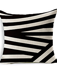 1 Pcs Irregularity Geometry Stripe Pillow Cover Classic Sofa Cushion Cover Home Decor Pillow Case