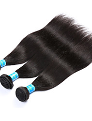 Vinsteen Indian Straight Human Hair Bundles 3Pcs 300g Cheap Hair Weft Extensions Natural Human Hair Double Weft Human Hair Weaves