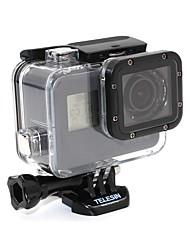 cheap -Sports Action Camera Waterproof Housing Case Outdoor Lidded Waterproof Transparent Moistureproof For Action Camera Gopro 4 Session