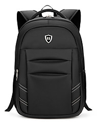 cheap -Men's Bags Oxford cloth Backpack Smooth Black