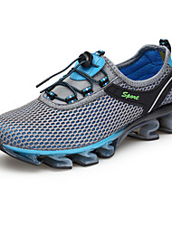Da uomo scarpe da ginnastica Comoda Tessuto Estate Autunno Tempo libero Sportivo Corsa Basso Blu scuro Grigio Royal Blue 2,5 - 4,5 cm