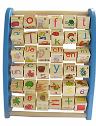 cheap -Building Blocks Educational Flash Cards For Gift  Building Blocks Wood 2 to 4 Years 5 to 7 Years Toys