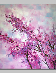 cheap -Hand Painted Flowers Oil Painting On Canvas Modern Art Wall Pictures For Home Decoration Ready To Hang