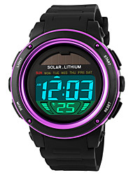 cheap -SKMEI® 1096  Men's Woman Solar ElectronicWatches Outdoor Sports Waterproof Sports Electronic Watches 50 Meters Waterproof