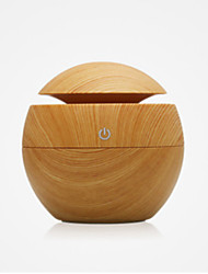 cheap -Color Random Humidifier Aromatherapy Machine wood Grain Humidifier Air Purifier Essential Oil Diffuser