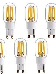 preiswerte -4W LED Doppel-Pin Leuchten T 4 COB 350 lm Warmes Weiß V 1 Person