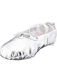 No Kids' Ballet Faux Leather Flats Indoor Bow(s) Flat Heel Ruby Sliver Gold