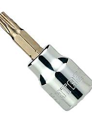 Stern 10mm Reihe der blumenförmigen Schraubenzieherhülse t25 / 1