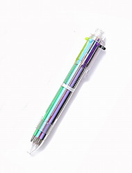 Penna Penne a sfera Penna,Plastica barile Colori casuali Colori inchiostro For Materiale scolastico Attrezzature da ufficio Confezione 1