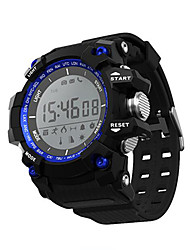 cheap -Smart Watch Water Resistant / Water Proof Calories Burned Pedometers Exercise Record Multifunction Information Message Control Long