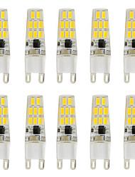3W G9 LED Doppel-Pin Leuchten T 16 SMD 5730 260 lm Warmes Weiß Kühles Weiß K V