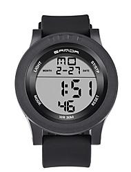 cheap -Men's Wrist watch Smart Watch Military Watch Fashion Watch Sport Watch Digital Calendar / date / day LED Noctilucent Stopwatch Fitness