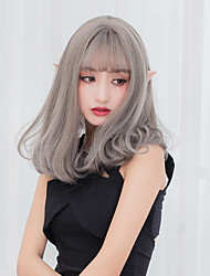 cheap -Synthetic Wig Women's Capless Carnival Wig Halloween Wig Party Wig Natural Wigs Medium Synthetic Hair