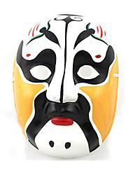 Halloween-masker Håndmalet maske Legetøj Andre Gips Gysertema Stk. Unisex Gave