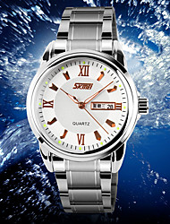 Men's Sport Watch Dress Watch Smart Watch Fashion Watch Wrist watch Unique Creative Watch Chinese Quartz Calendar Chronograph Large Dial