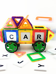 cheap -Magnet Toy Magnetic Blocks / Toy Car / Building Blocks Magnetic / DIY Car Boys' Kid's Gift