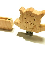 4gb USB-Flash-Laufwerk Stick Memory Stick USB-Flash-Laufwerk Holz