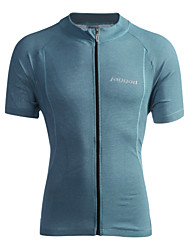 cheap -Jaggad Cycling Jersey Men's Short Sleeves Bike Jersey Top Quick Dry Breathable Polyester Elastane Patchwork Summer Cycling/Bike