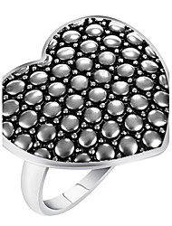 cheap -Women's Ring Statement Ring Silver Alloy Geometric Heart Personalized Luxury Unique Design Vintage Statement Jewelry Euramerican Fashion