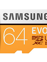 abordables -SAMSUNG 64Go TF carte Micro SD Card carte mémoire UHS-I U3 Class10 EVO