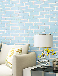 cheap -3D Brick Home Decoration Contemporary Wall Covering, Non-woven Paper Material Self adhesive Wallpaper, Room Wallcovering