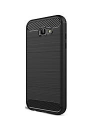 Недорогие -Кейс для Назначение SSamsung Galaxy A5(2017) A3(2017) Защита от удара Кейс на заднюю панель Сплошной цвет Мягкий ТПУ для A3 (2017) A5