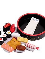 economico -Alimenti a giocattolo Giochi di emulazione Giocattoli Circolare Legno Per bambini Regalo 1pcs