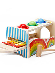 cheap -Hammering / Pounding Toy Building Blocks Baby & Toddler Toy Education Square Children's Unisex Gift