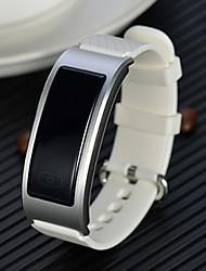 baratos -Homens Relógio inteligente Chinês Monitor de Batimento Cardíaco / Impermeável / Criativo Couro Legitimo Banda Amuleto Cores Múltiplas / Pedômetros