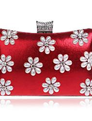 preiswerte -Damen Taschen PU Polyester Abendtasche Strass Perlen Verzierung für Hochzeit Veranstaltung / Fest Formal Ganzjährig Blau Gold Schwarz