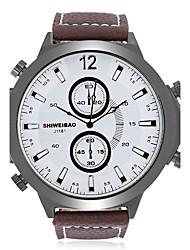 Муж. Взрослые Спортивные часы Модные часы Повседневные часы Наручные часы Уникальный творческий часы Китайский КварцевыйКалендарь Защита