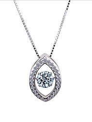 Недорогие -чистое серебро усеяно шикарным стилем ожерелья