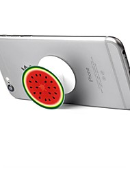 1 pc Phone Stand Holder  Watermelon Pattern Plastic Telescopic Support 360 Rotating for Mobile Phone